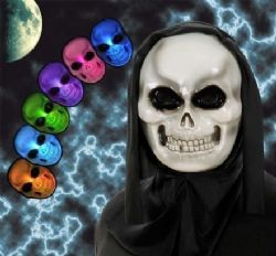 Hooded Skull Mask with Multi Colour - (1314)